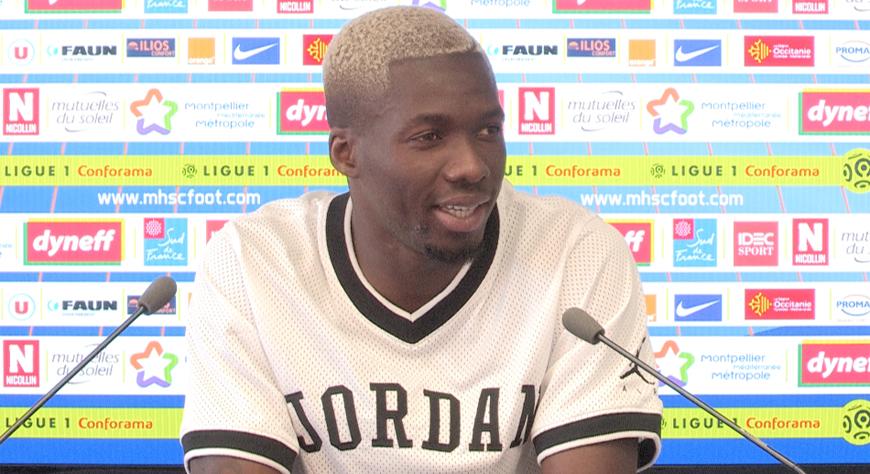 Maillot Domicile MONTPELLIER Ambroise OYONGO