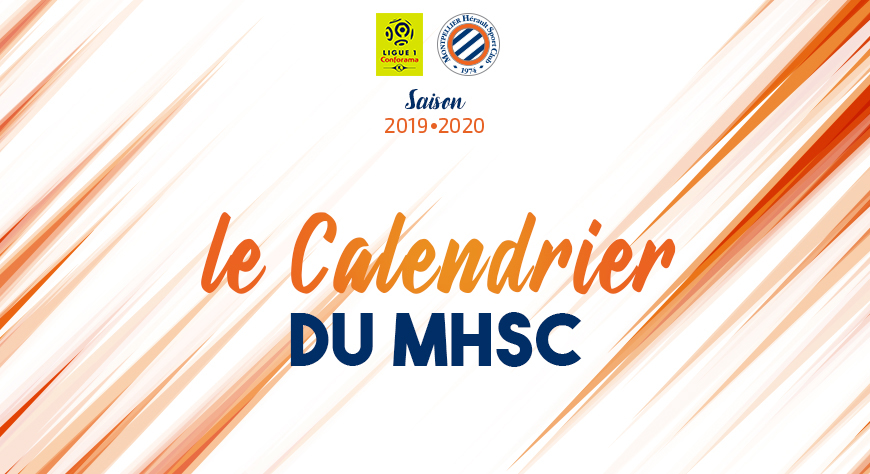 Calendrier Foot Feminin D1.Le Calendrier 2019 2020 Est Sorti Mhsc Foot