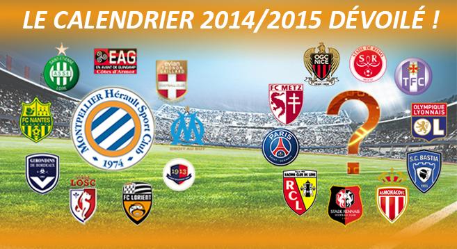 Calendrier Bordeaux Ligue 1.Calendrier De Ligue 1 2014 2015 Mhsc Bordeaux Pour Debuter