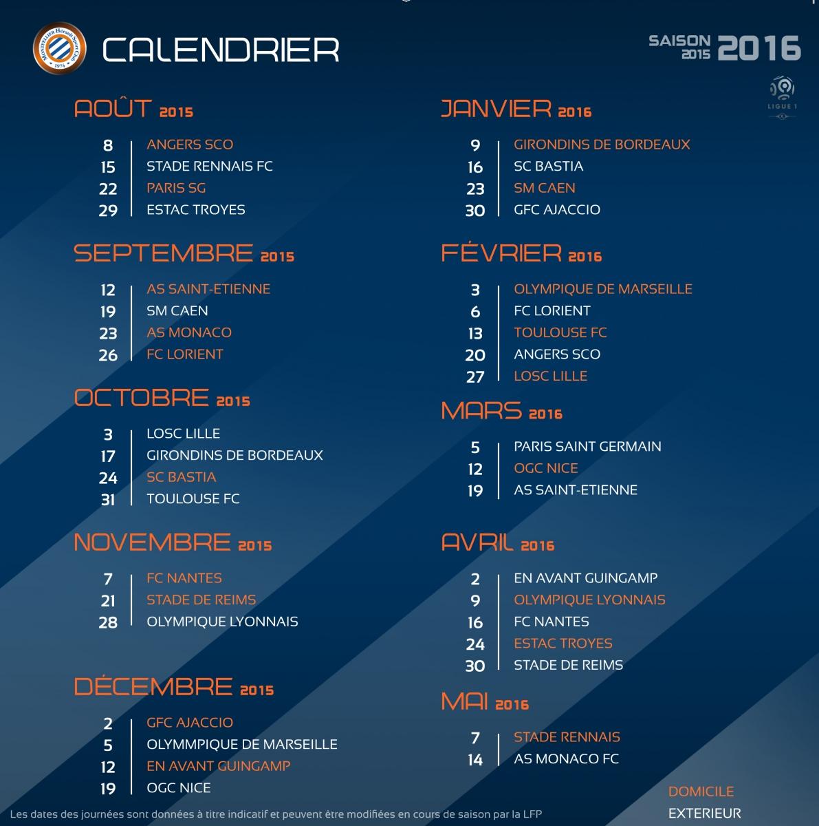 Sco Angers Calendrier.Calendrier Angers A La Mosson Pour Debuter La Saison 2015