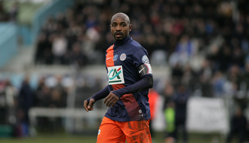 Maillot Domicile MONTPELLIER Souleymane CAMARA