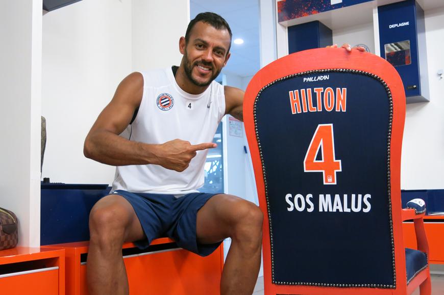 Maillot Domicile MONTPELLIER Vitorino HILTON