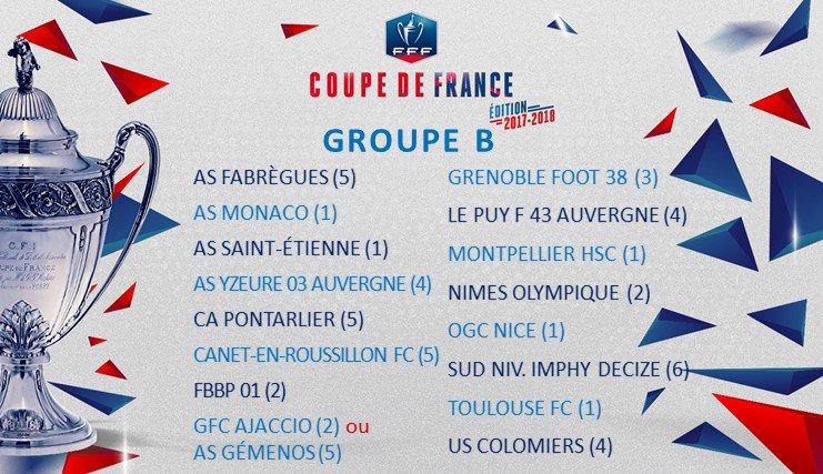 Coupe de france tirage au sort le mhsc peut potentiellement affronter mhsc foot - Tirage au sort 16eme coupe de france ...